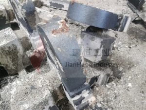 Cast steel coating