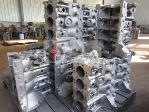 Ductile cast iron coating