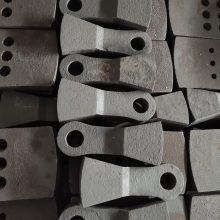 Wear resistant parts by lost foam